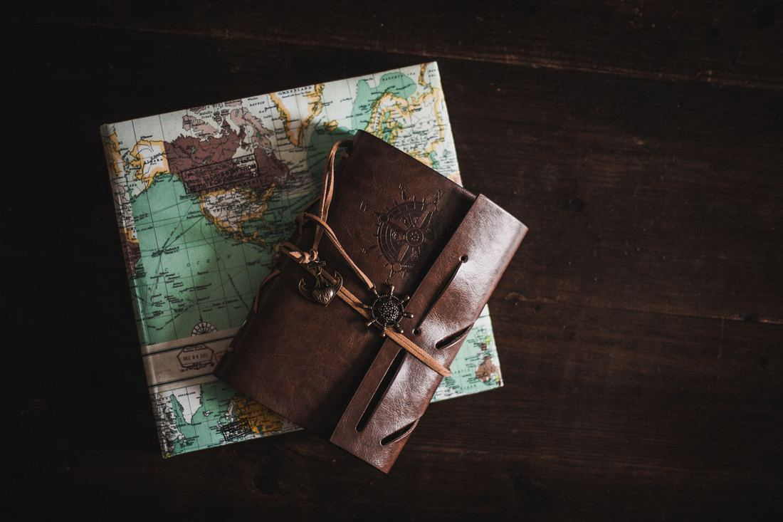 Map and journal